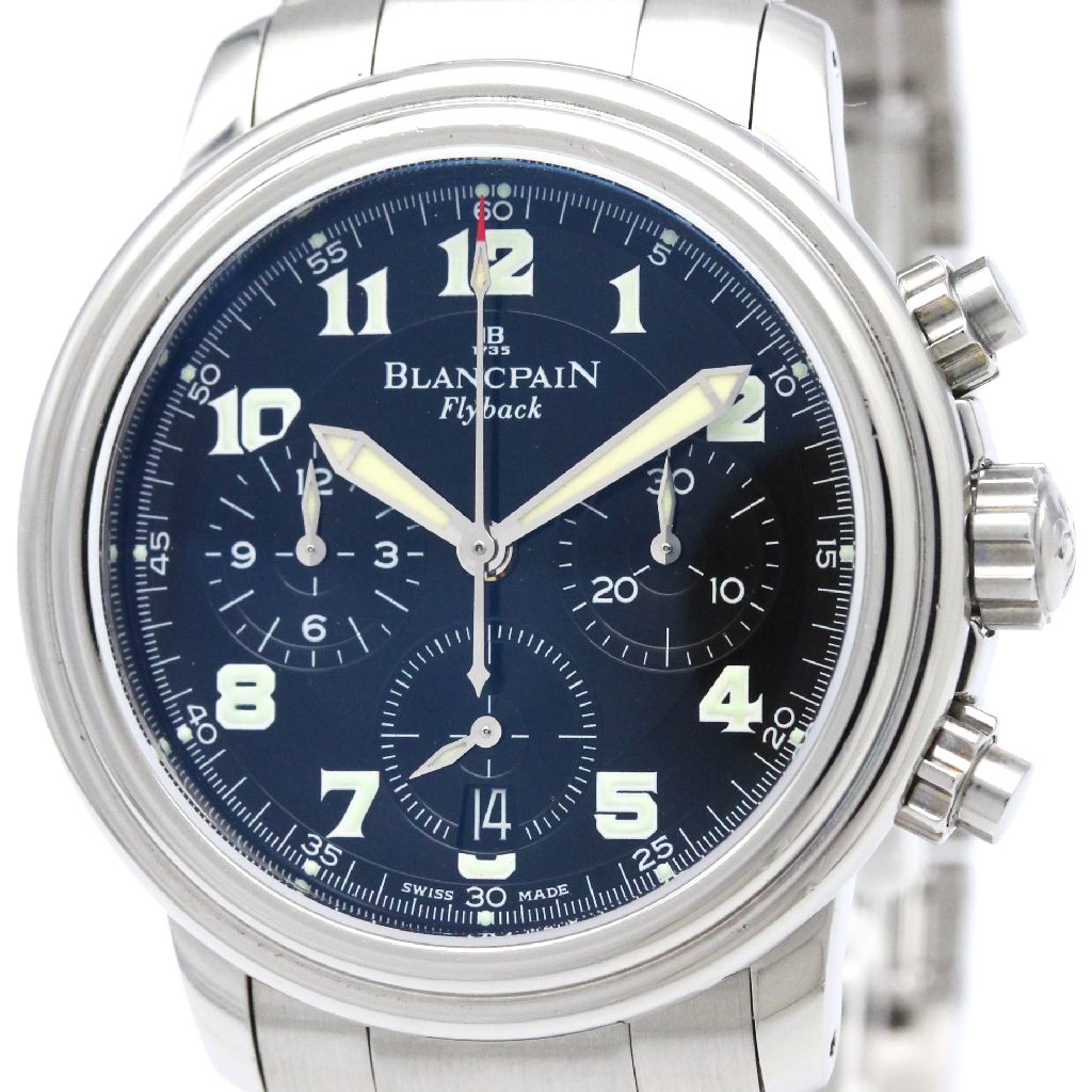"""Image of """"Blancpain Leman 2185F-1130-71 Stainless Steel Automatic 38mm Mens"""""""