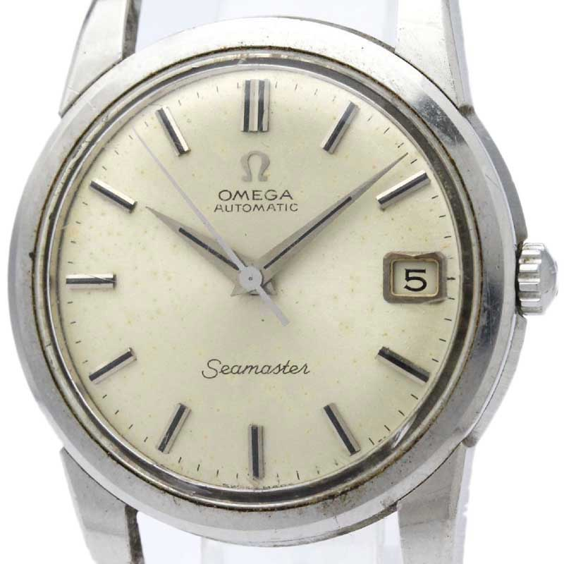 """Image of """"Omega Seamaster 166.009 Stainless Steel Automatic 34mm Mens Watch"""""""