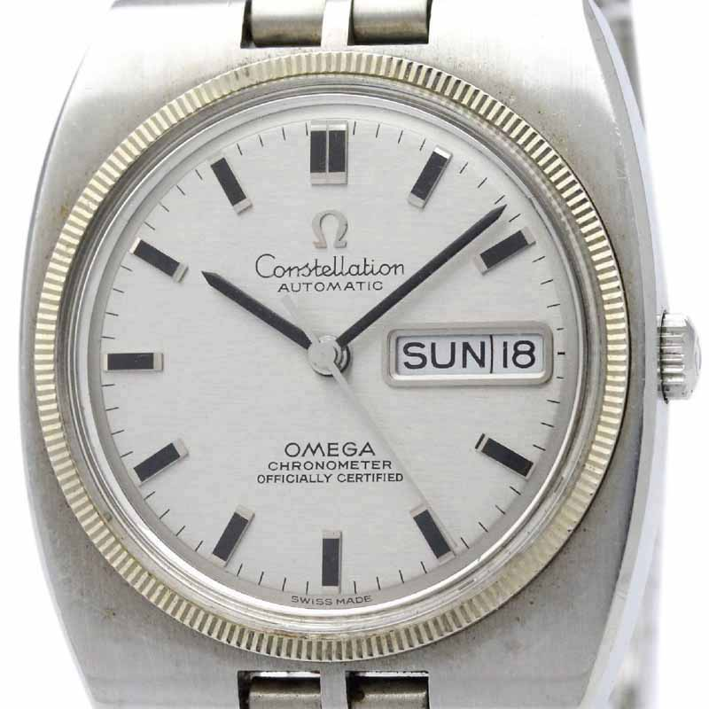 "Image of ""Omega Constellation 168.045 Stainless Steel Automatic 36mm Mens Watch"""