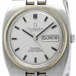Omega Constellation 168.045 Stainless Steel Automatic 36mm Mens Watch