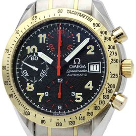 Omega Speedmaster 3313.53 Stainless Steel / 18K Yellow Gold 39mm Mens Watch