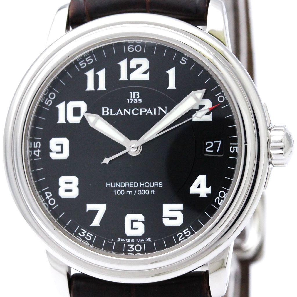"""Image of """"Blancpain Leman 2100-1130 Stainless Steel Automatic 38mm Mens Watch"""""""