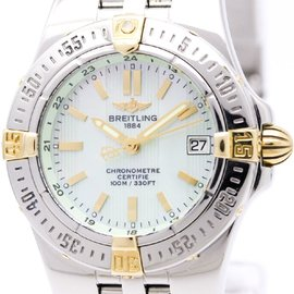 Breitling Starliner B71340 18K Yellow Gold / Stainless Steel 30mm Womens Watch