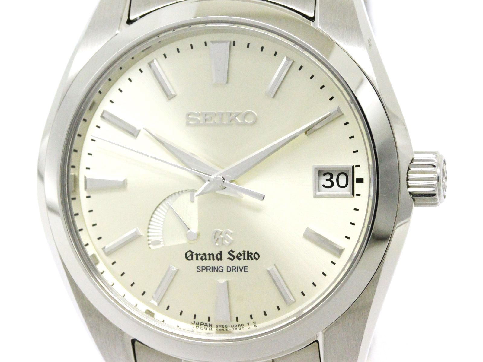 "Image of ""Grand Seiko 9R65-0Aa0 Stainless Steel Spring Drive 41mm Mens Watch"""