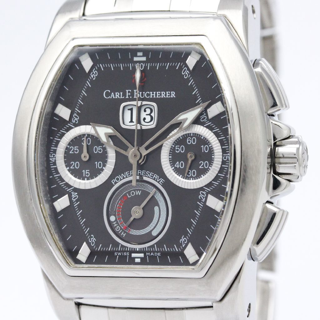 "Image of ""Carl F. Bucherer Patravi Automatic Stainless Steel Men's Sports Watch"""