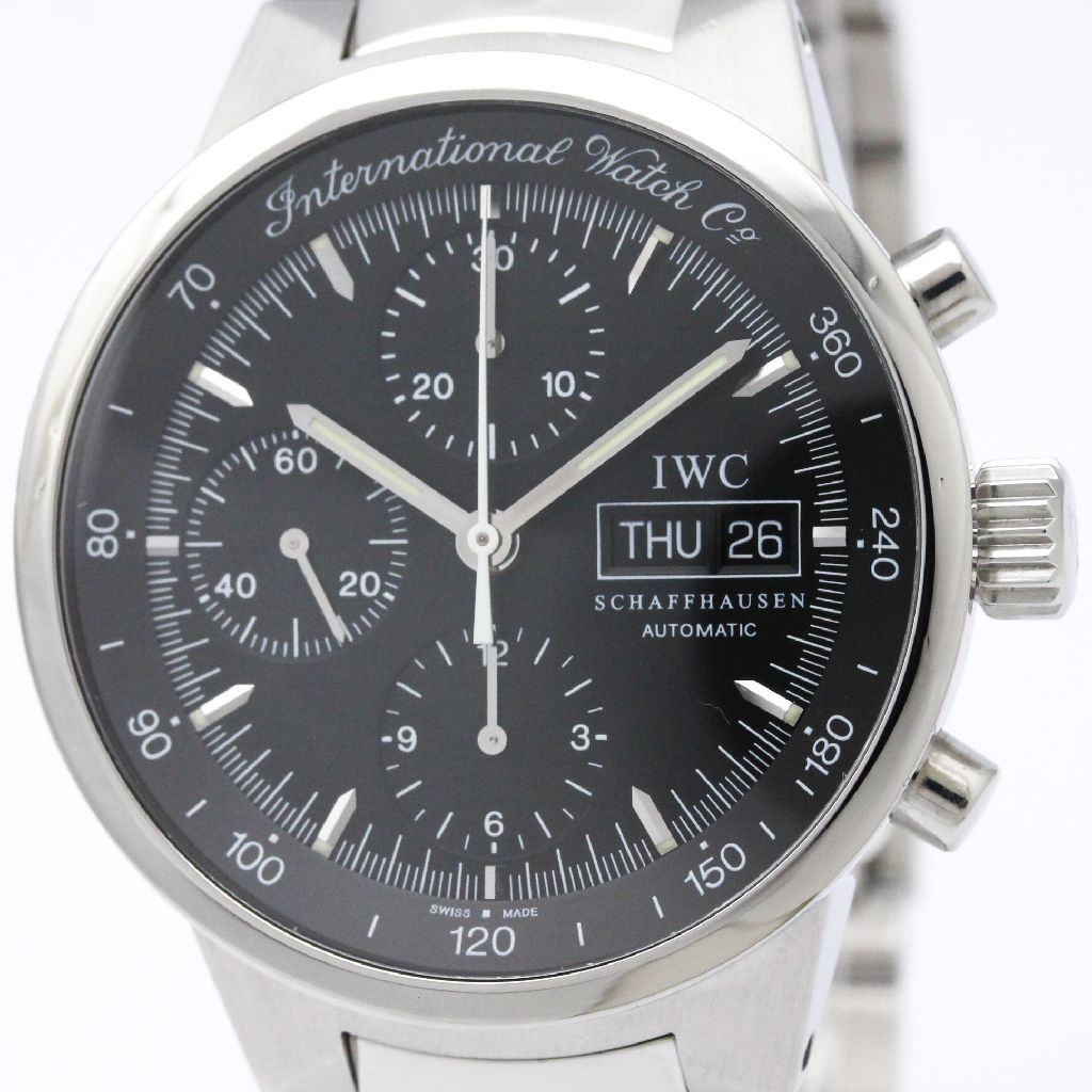 "Image of ""IWC GST Automatic Stainless Steel Men's Sports Watch Iw370708"""