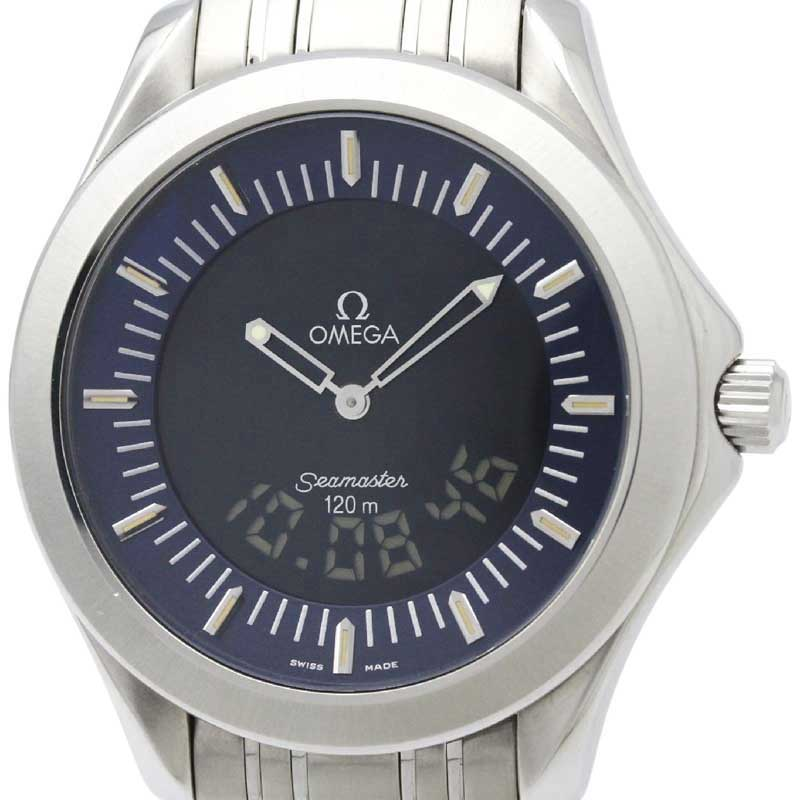 "Image of ""Omega Seamaster Quartz Stainless Steel Men's Sports Watch 2521.81"""
