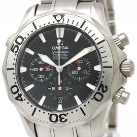 Omega Seamaster 2293.50 Automatic 41mm Titanium Men's Sports Watch