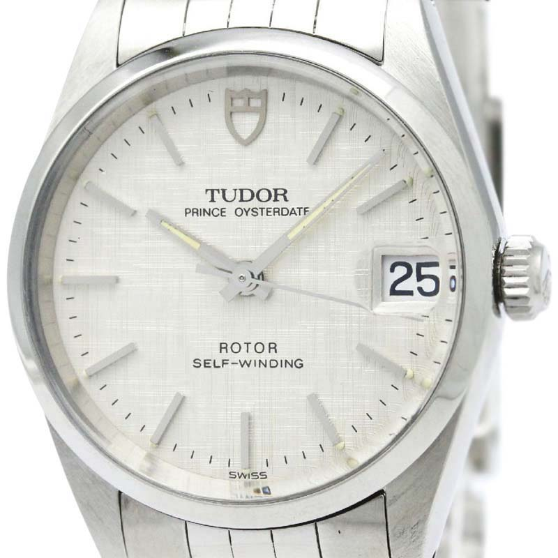"""Image of """"Tudor Prince Oyster 72000 Date Automatic Stainless Steel 32mm Mens"""""""