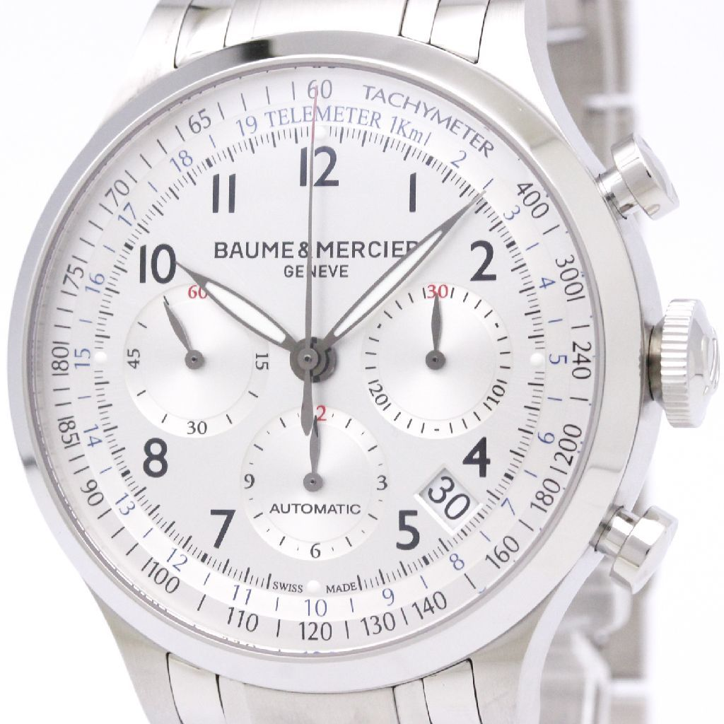 "Image of ""Baume & Mercier Capeland Moa10064 Automatic Stainless Steel 44mm Mens"""