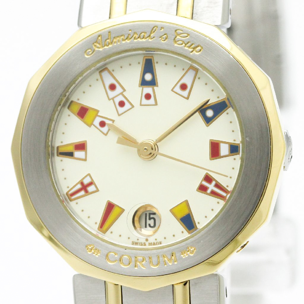 """Image of """"Corum Admirals Cup 39.610.21 Stainless Steel and 18K Yellow Gold"""""""