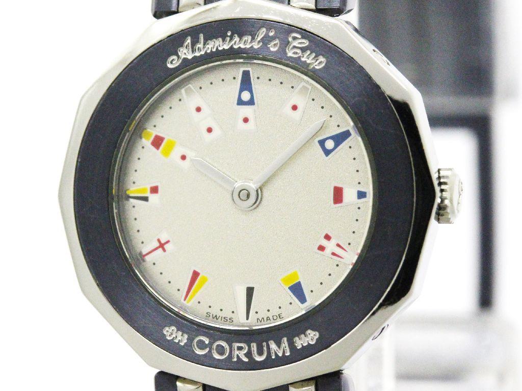 "Image of ""Corum Admirals Cup 24.810.30 Stainless Steel Quartz 22mm Womens Watch"""