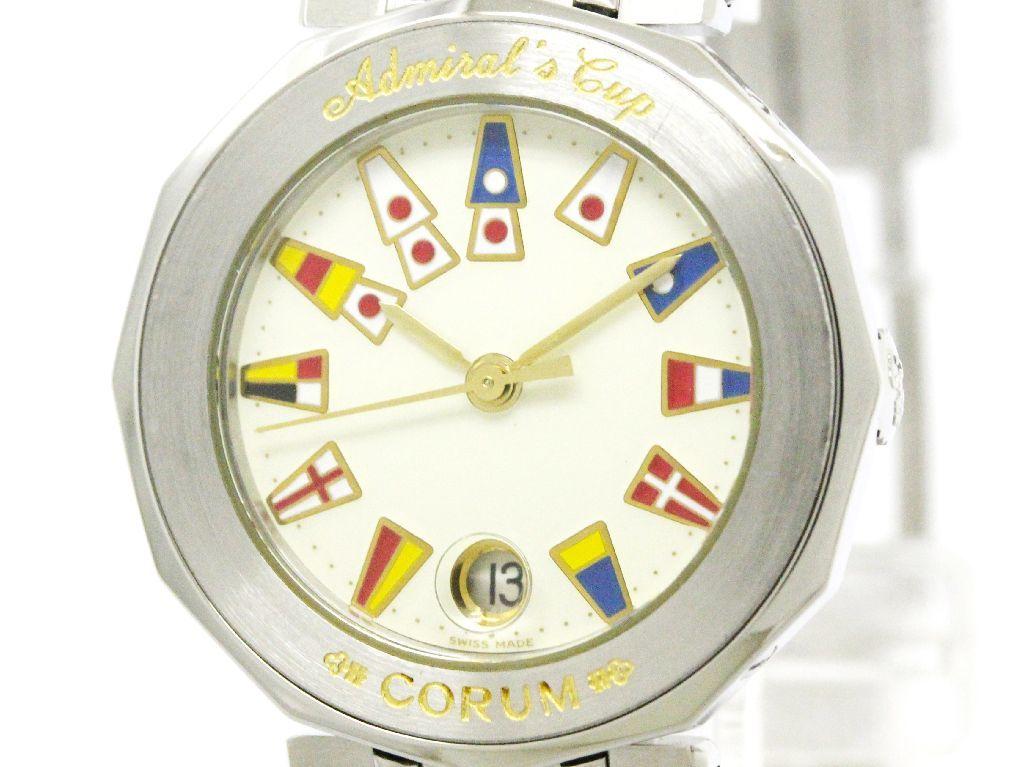 "Image of ""Corum Admirals Cup 39.610.20 Stainless Steel Quartz 26mm Womens Watch"""