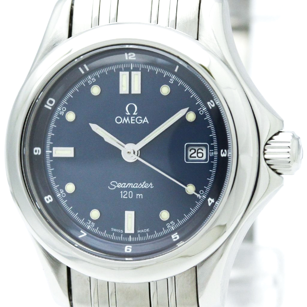 """Image of """"Omega Seamaster 2571.80 Stainless Steel Quartz 28mm Womens Watch"""""""