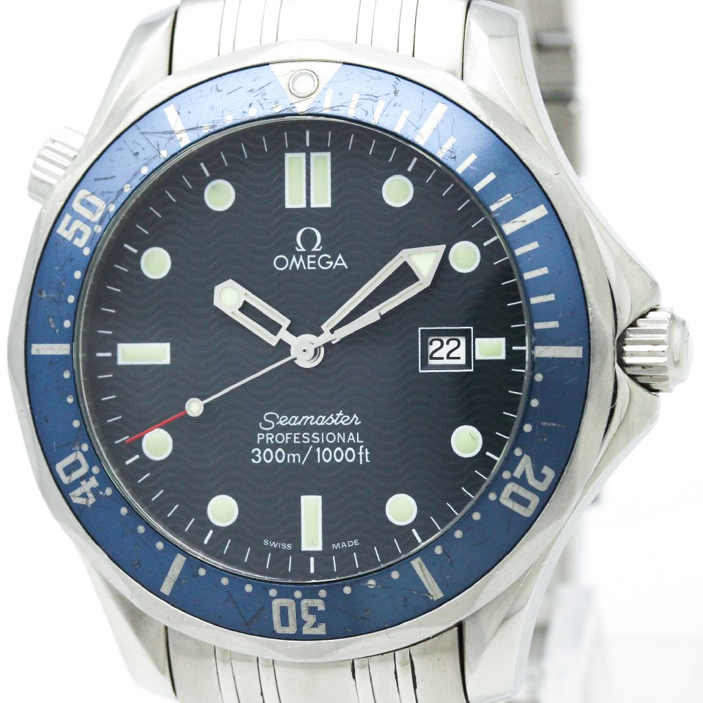 """Image of """"Omega Seamaster 2541.80 Stainless Steel Quartz 41mm Mens Watch"""""""