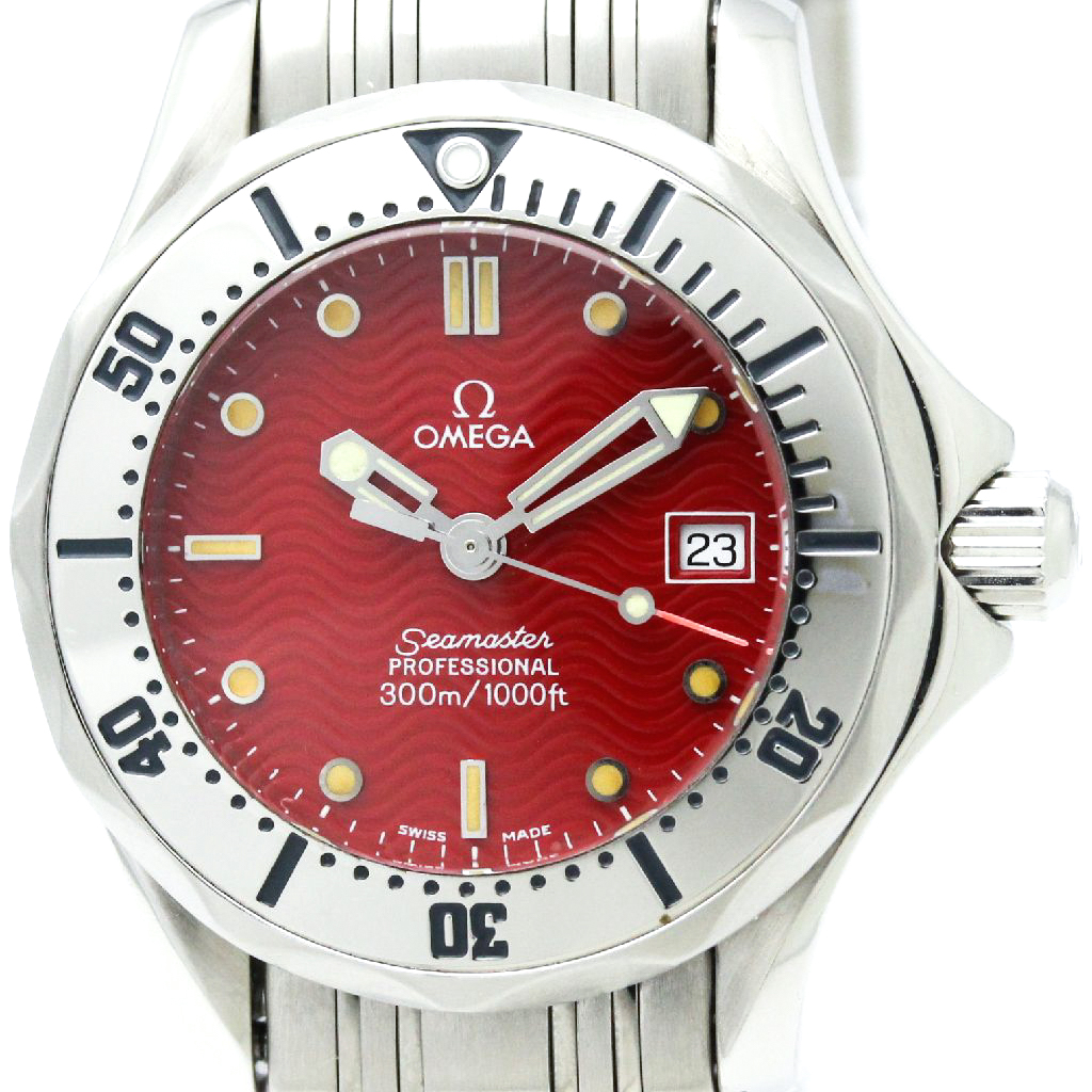 """Image of """"Omega 2582.61 Seamaster Stainless Steel Quartz 29mm Mens Watch"""""""