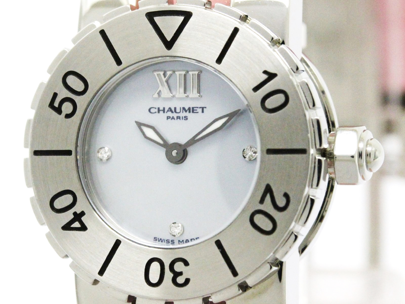 """Image of """"Chaumet Class 1 Stainless Steel Quartz 24mm Womens Watch"""""""