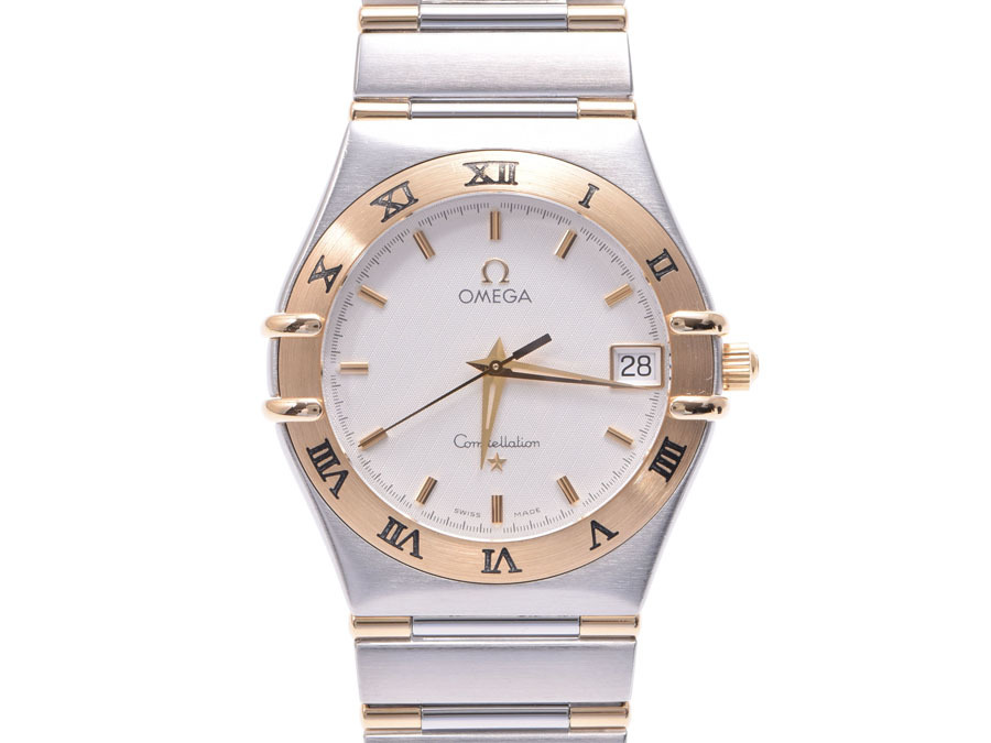 "Image of ""Omega Constellation 1312.30 Stainless Steel & Gold Quartz 32mm Mens"""