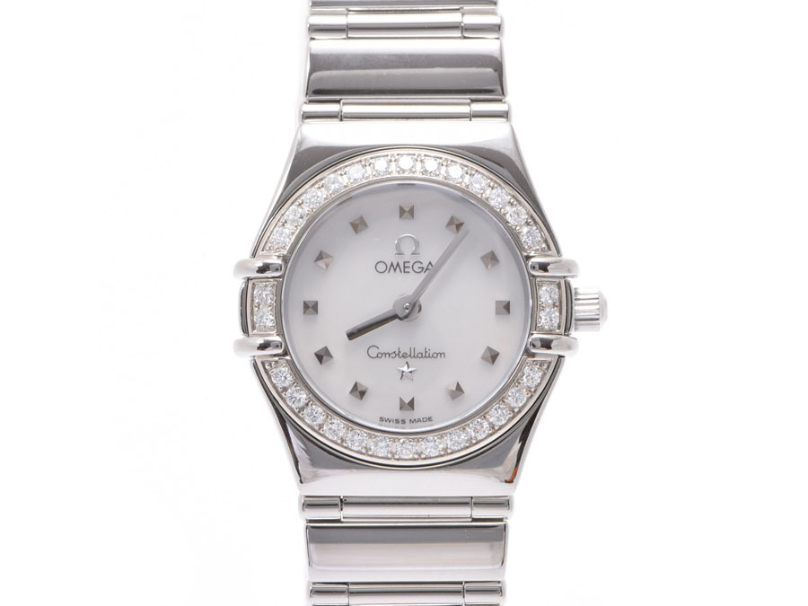 """Image of """"Omega Constellation Stainless Steel Quartz 21mm Womens Watch"""""""