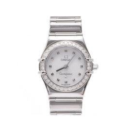 Omega Constellation Stainless Steel Quartz 21mm Womens Watch