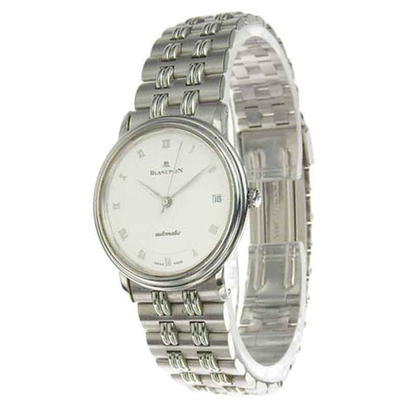 """Image of """"Blancpain Villeret 1195 Stainless Steel Automatic 32mm Mens Watch"""""""