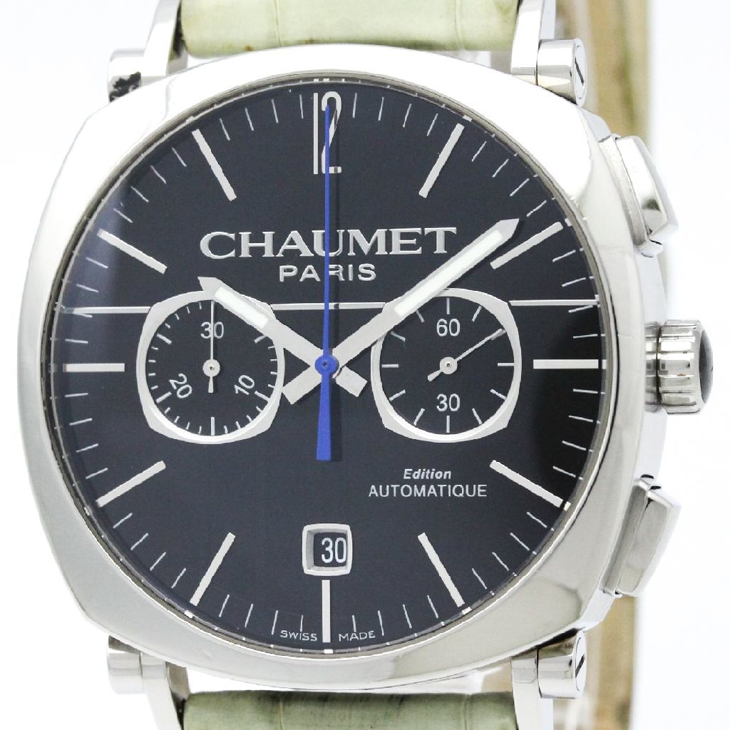 """Image of """"Chaumet Dandy W11290-30A Stainless Steel Automatic 40mm Mens Dress"""""""