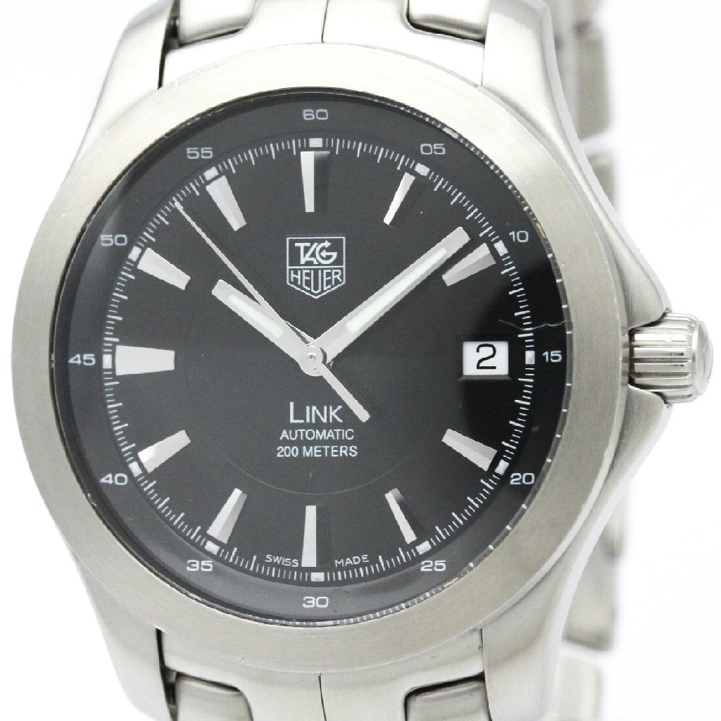 """Image of """"Tag Heuer Link Wjf2110 Automatic Stainless Steel 38mm Mens Sports"""""""