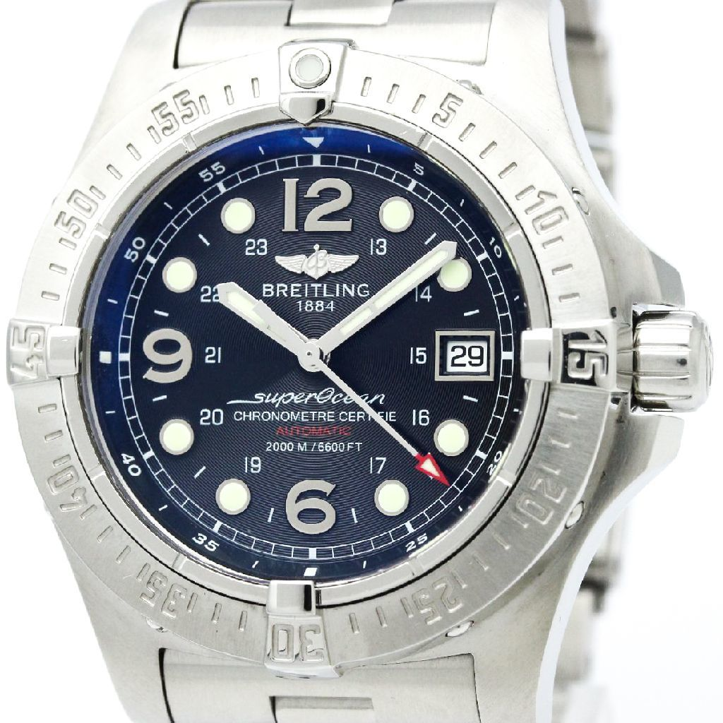 """Image of """"Breitling Superocean A17390 Steelfish Stainless Steel Automatic 44mm"""""""