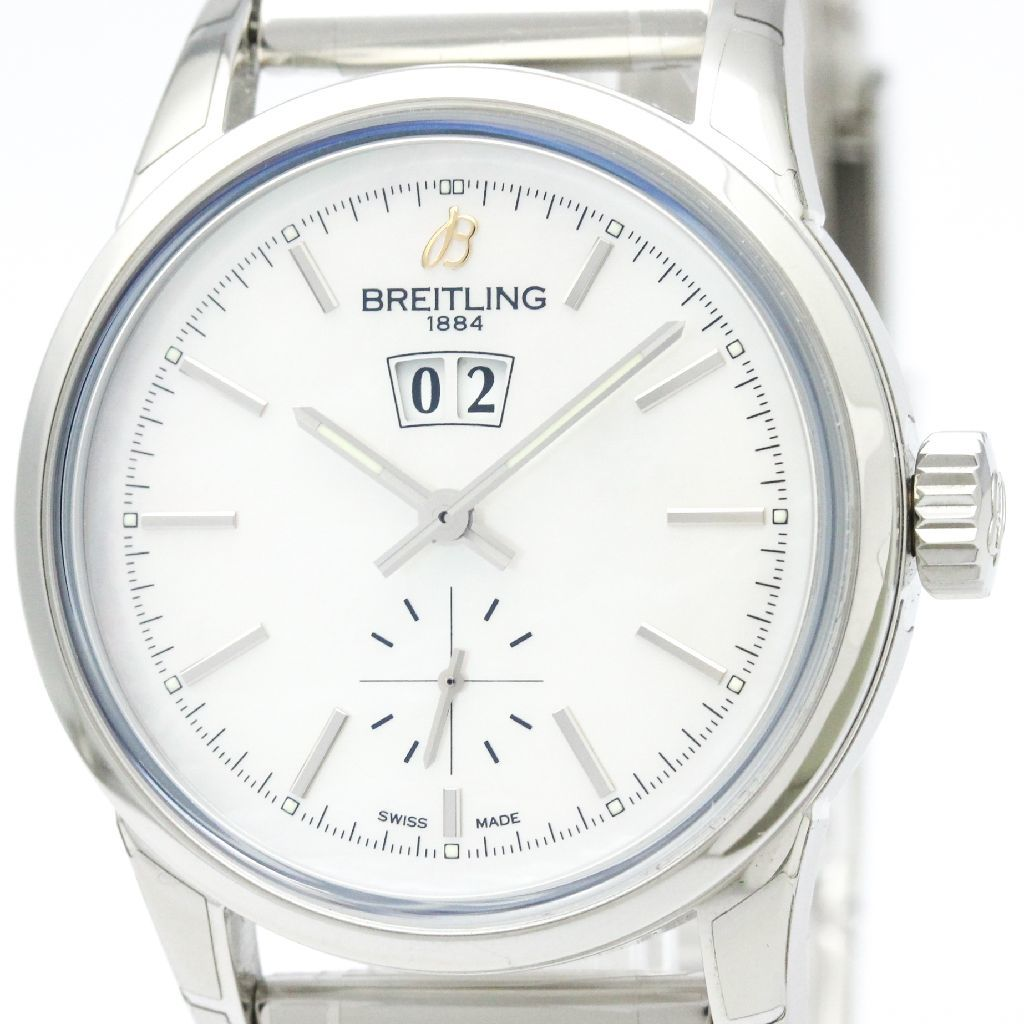 """Image of """"Breitling Transocean A16310 Stainless Steel Automatic 38mm Mens Sports"""""""