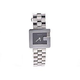 Gucci 3600L Stainless Steel Black Dial Quartz 23mm Womens Watch