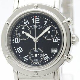 Hermes Clipper CL1.310 Stainless Steel Quartz 31mm Womens Watch