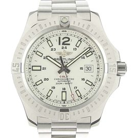 Breitling Colt A17388 Stainless Steel White Dial Automatic 44mm Mens Watch