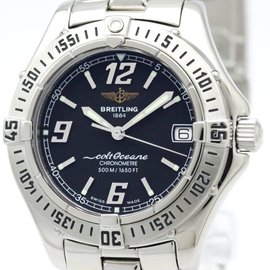 Breitling Colt A57350 Quartz Stainless Steel 34mm Womens Sports Watch