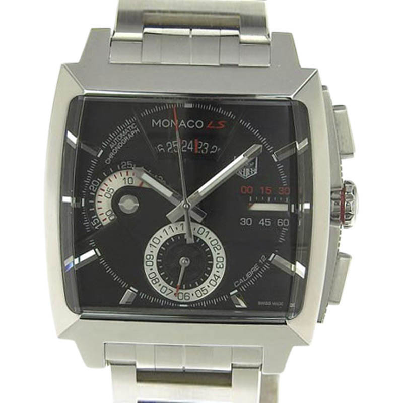 """Image of """"Tag Heuer Monaco Cal2110-0 Stainless Steel Automatic 44mm Mens Watch"""""""