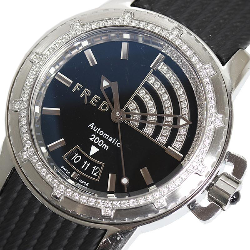 "Image of ""Fred Fd064511 Stainless Steel Automatic 40mm Men's Watch"""