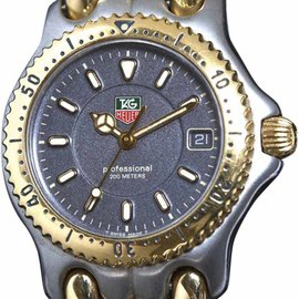 Tag Heuer Professional WG1220-K0 Stainless Steel / Yellow Gold Quartz 34mm Unisex Watch