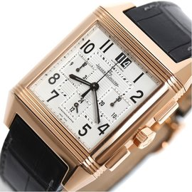 Jaeger Le Coultre 230.2.45 Pink Gold Automatic 35mm Men Watch