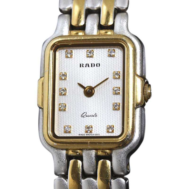"Image of ""Rado 133.9696.2 Two Tone Stainless Steel Quartz 18mm Womens Watch"""