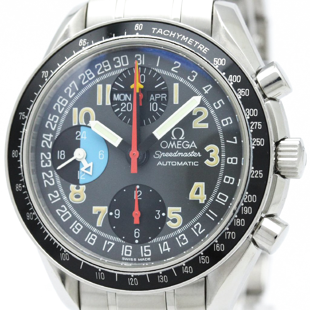"""Image of """"Omega Speedmaster 3520.53 Stainless Steel Automatic 39mm Mens Watch"""""""