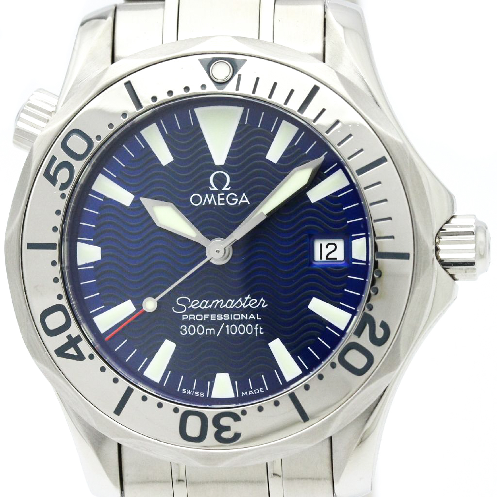 """Image of """"Omega Seamaster 2263.80 Stainless Steel 36mm Unisex Watch"""""""