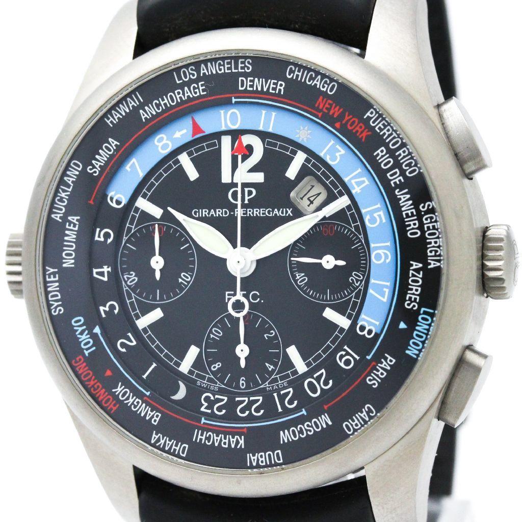 "Image of ""Girard-Perregaux Ww.tc 49805 Titanium Automatic 43mm Mens Watch"""