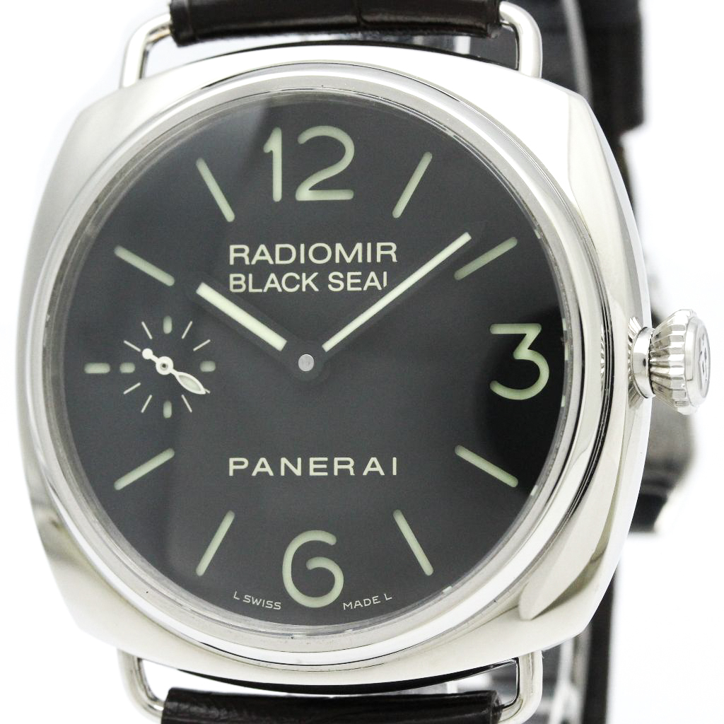 "Image of ""Officine Panerai Radiomir Pam00183 Stainless Steel 45mm Mens Sports"""