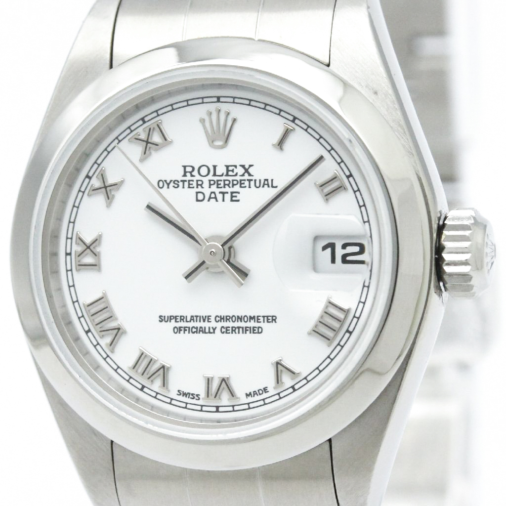 "Image of ""Rolex Oyster Perpetual 79160 Stainless Steel 26mm Womens Watch"""