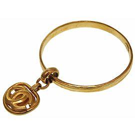 Chanel Gold Tone Hardware Vintage Bracelet