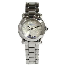 Chopard Happy Sports Mark II Mini Blossom 27/8509-3022 Stainless Steel Quartz 30mm Womens Watch