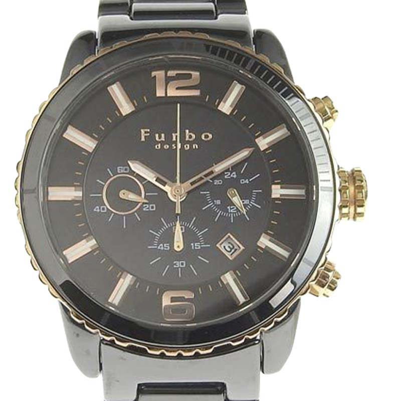 "Image of ""Furbo Fs405 Ceramic Quartz 43mm Mens Watch"""