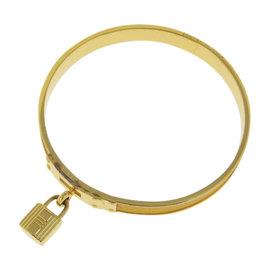 Hermes Gold Tone Hardware Bracelet