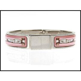 Hermes Silver Tone Hardware Bracelet