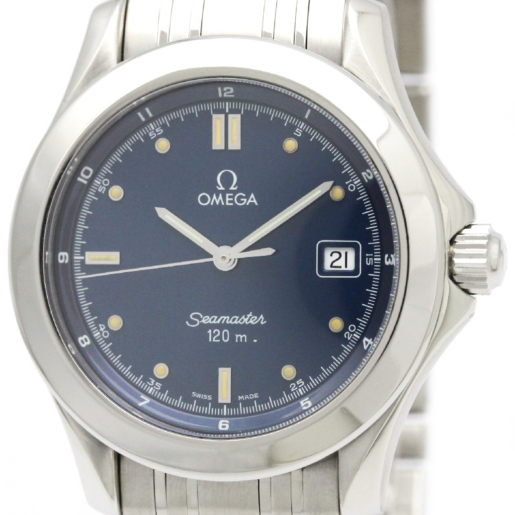 "Image of ""Omega Seamaster 2511.80 Stainless Steel Quartz 36mm Mens Watch"""