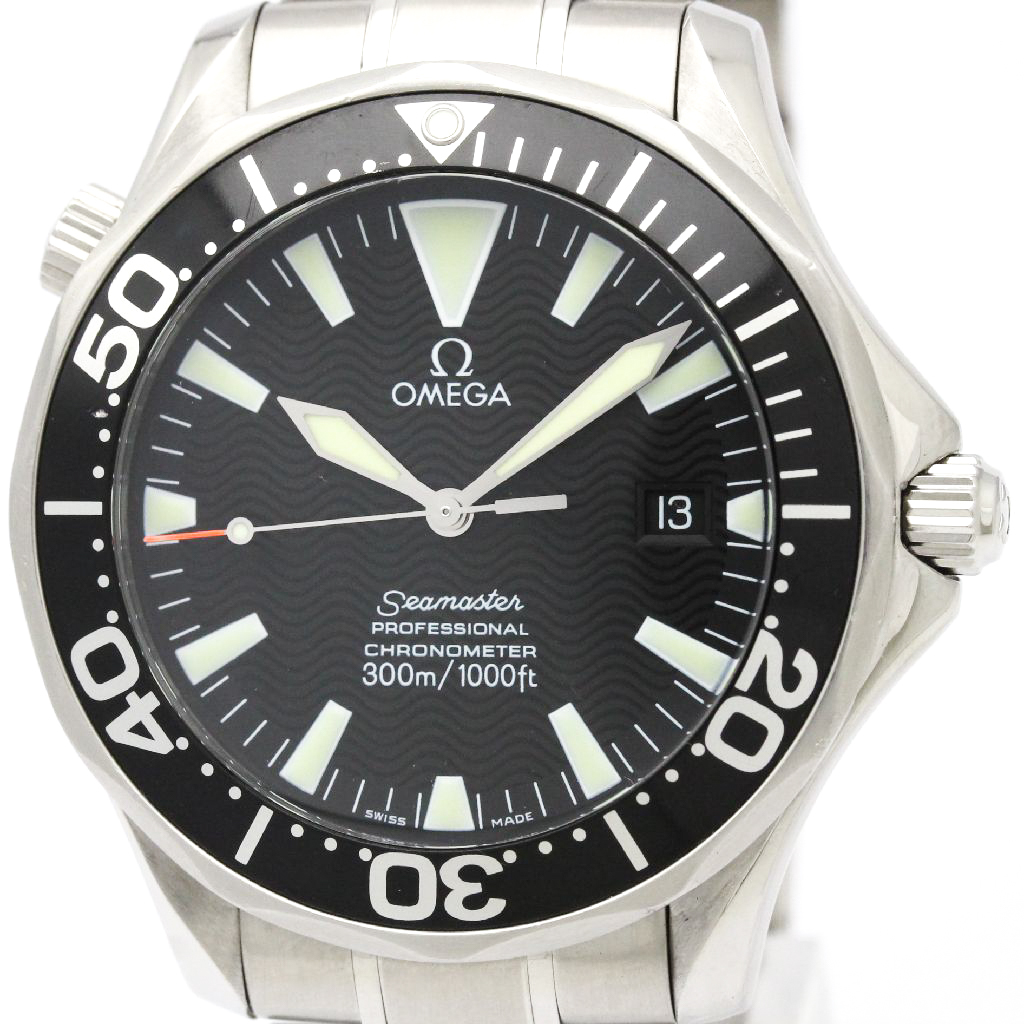 """Image of """"Omega Seamaster 2254.50 Stainless Steel Automatic 41mm Mens Watch"""""""